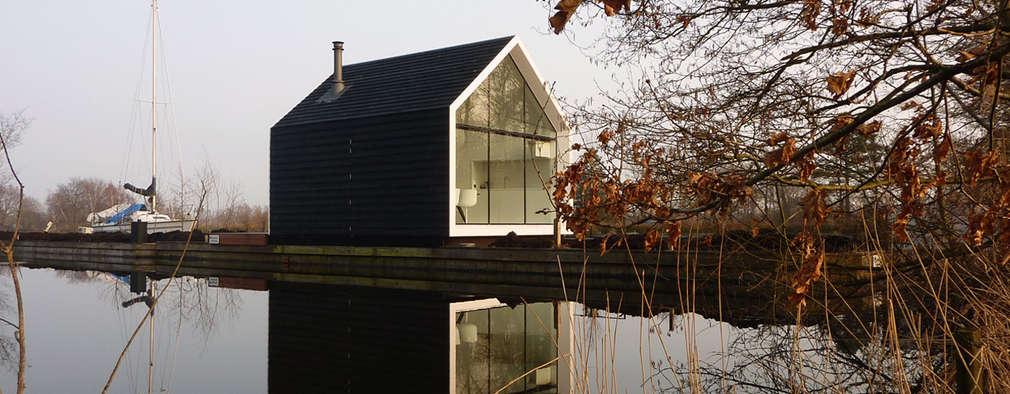 2by4-architects: modern tarz Evler