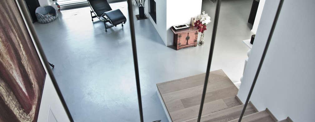 ein fu boden aus beton 7 fantastische ideen. Black Bedroom Furniture Sets. Home Design Ideas