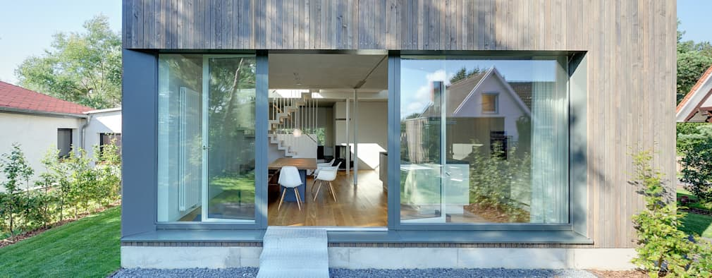modern Windows & doors by Möhring Architekten