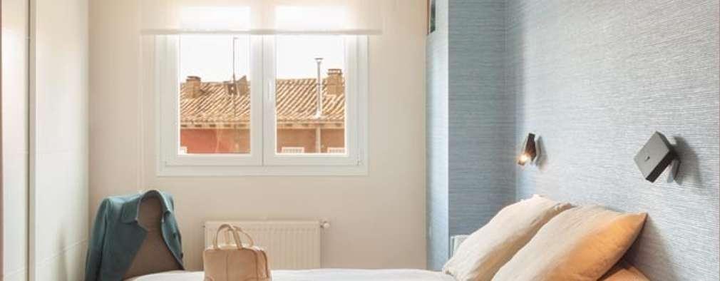Dormitorios de estilo minimalista por ESTER SANCHEZ LASTRA