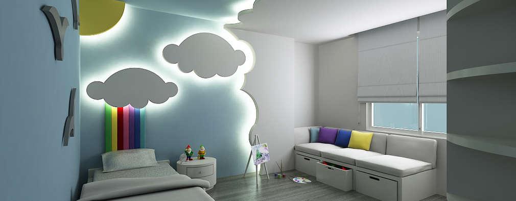 Niyazi Özçakar İç Mimarlık – E.K. EVİ: modern tarz Çocuk Odası