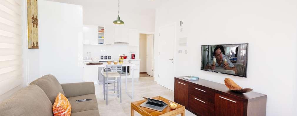 Kıbrıs Developments – Escape Homes Exclusive : modern tarz Oturma Odası