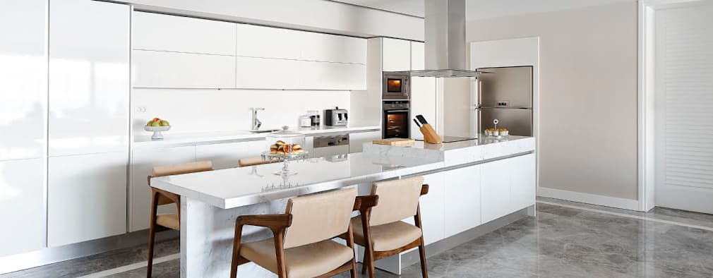 Cocinas de estilo moderno por Escapefromsofa