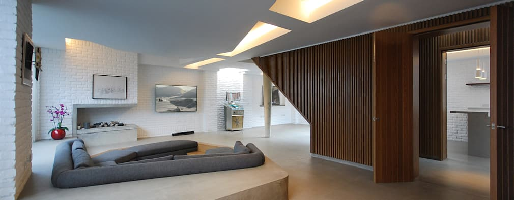 modern Living room by Patalab Architecture