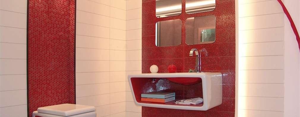modern Bathroom by home makers interior designers & decorators pvt. ltd.