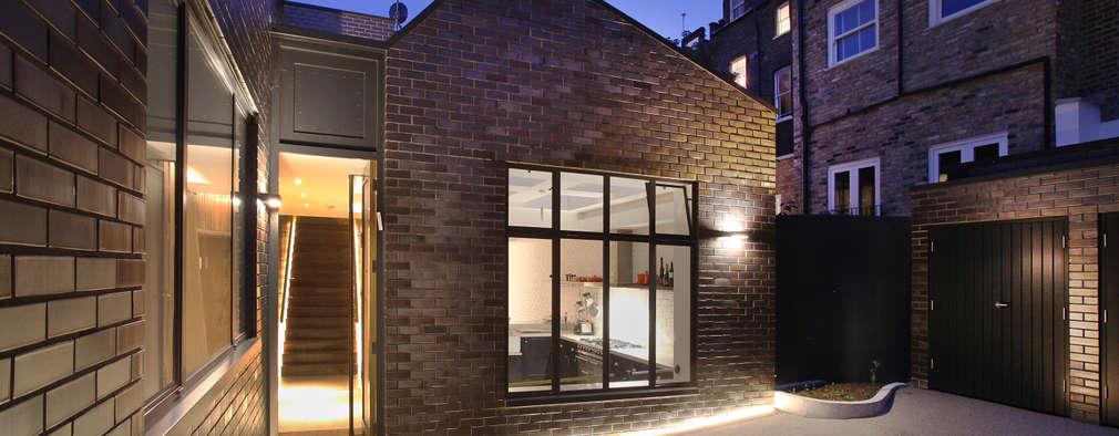 Projekty, nowoczesne Domy zaprojektowane przez Patalab Architecture