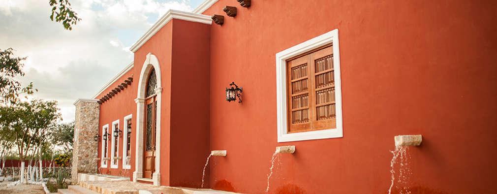 Ventanas de estilo  por Arturo Campos Arquitectos