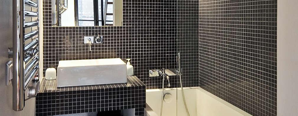 Baños de estilo moderno por Marion Rocher