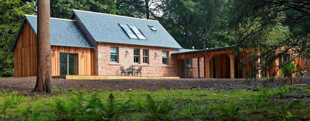 landelijke Huizen door Architects Scotland Ltd
