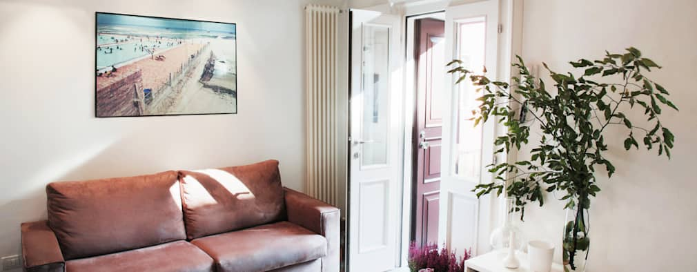 marta novarini architetto: modern tarz Oturma Odası