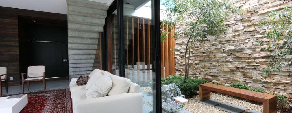 15 jardines en interior que se verán fabulosos en casas modernas