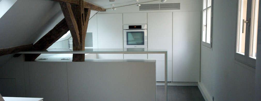 Кухни в . Автор – Atelier TO-AU