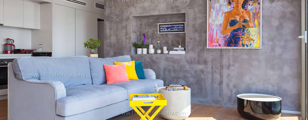 Salas de estilo moderno por f12 Photography