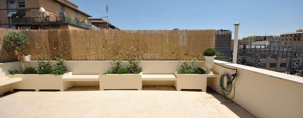 terrazas de estilo por