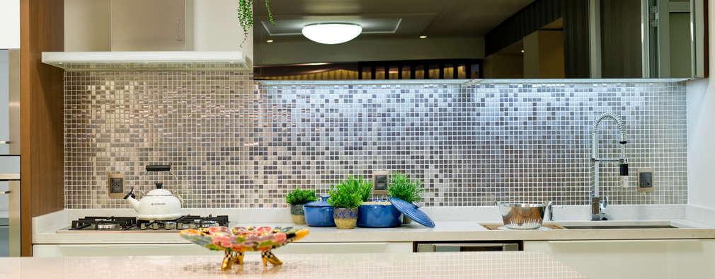 12 idee di rivestimenti in mosaico per la vostra cucina - Top cucina mosaico ...