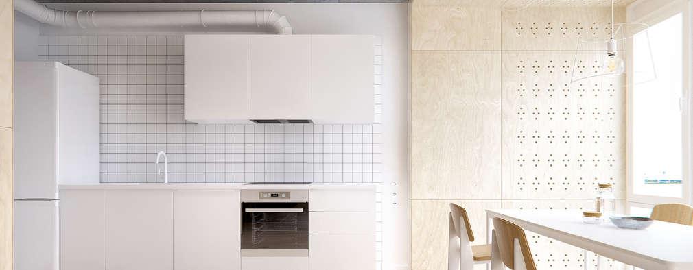 minimalistic Kitchen by INT2architecture