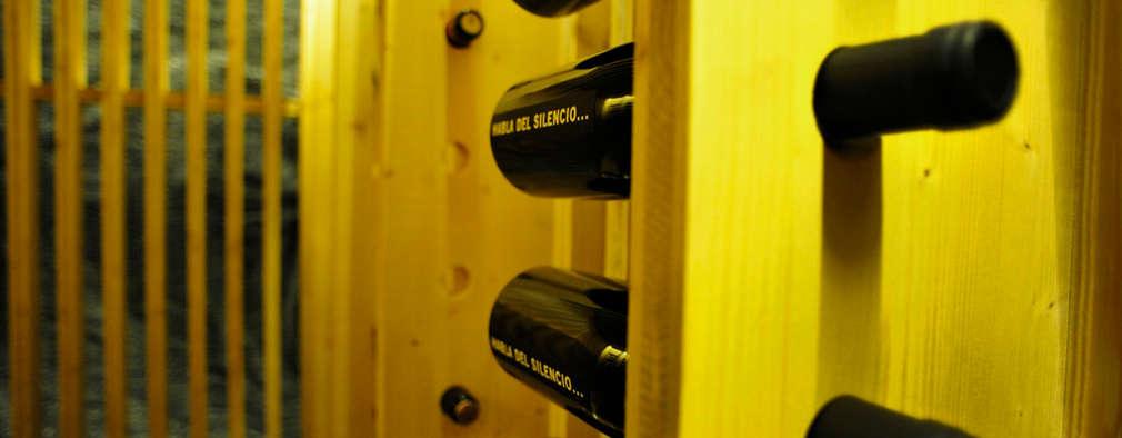 B14: Bodegas de estilo moderno de BONBA studio