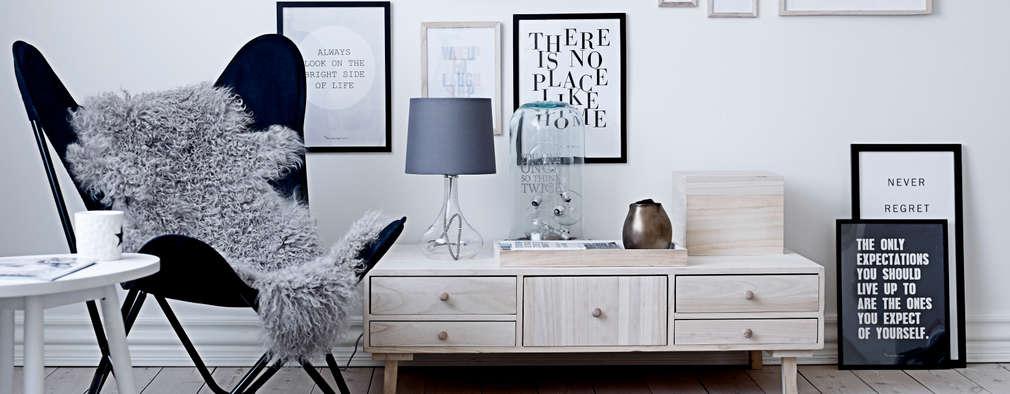 scandinavian Living room by House Envy