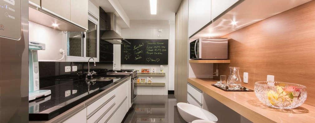6 ideas de diseño para ganar espacio en una cocina pequeña