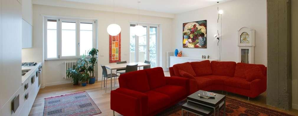 Salas de estilo moderno por Archifacturing
