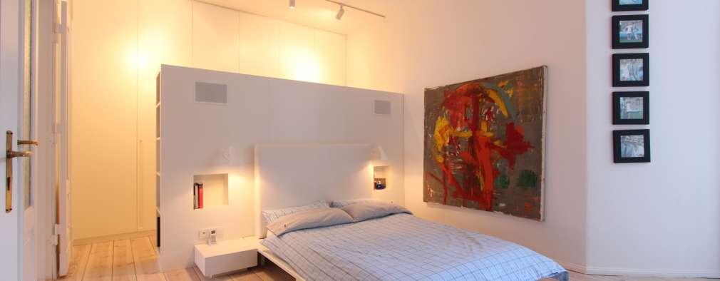 modern Bedroom by WAF Architekten