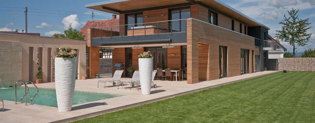 Projekty, nowoczesne Domy zaprojektowane przez Grossmann Architekten