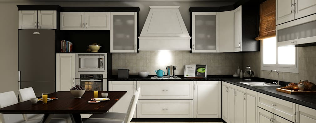 Dapur by SK ARCHITECTURAL VISUALIZATION