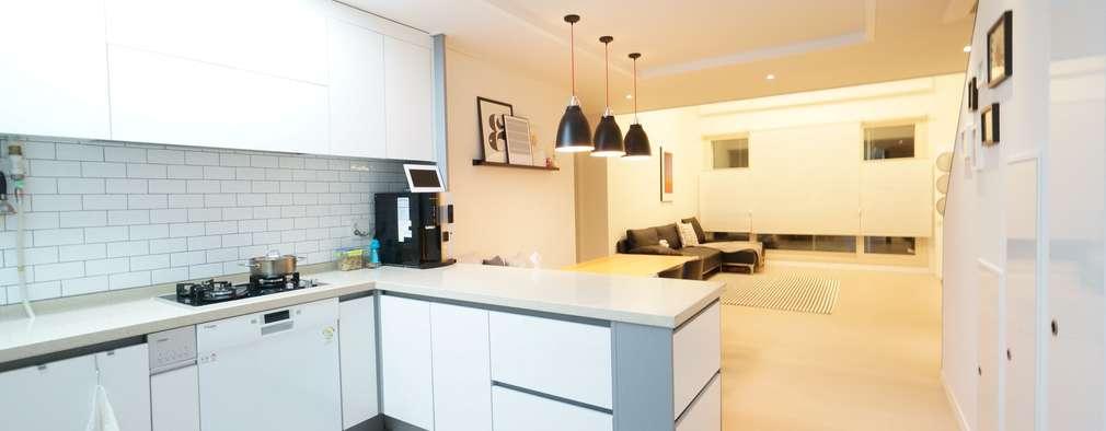 scandinavian Kitchen by 유노디자인
