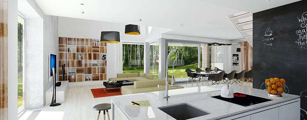 Dom modny: styl , w kategorii Kuchnia zaprojektowany przez doomo