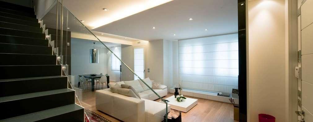 Livings de estilo minimalista por SANSON ARCHITETTI