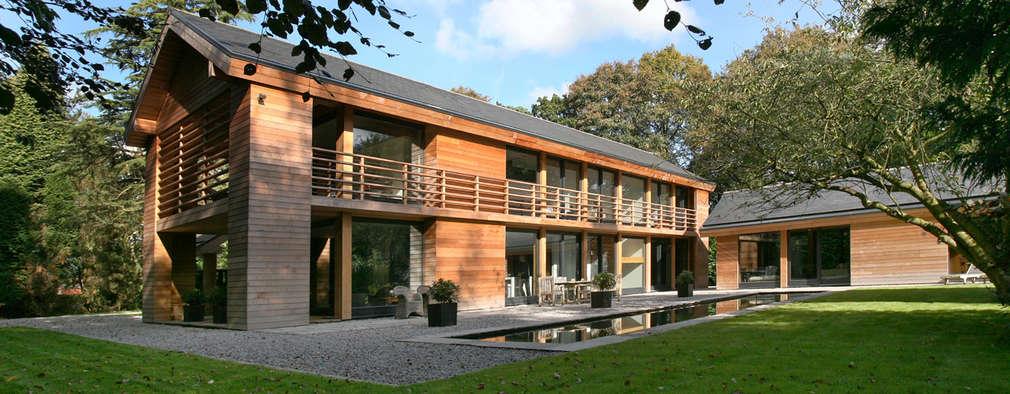 บ้านและที่อยู่อาศัย by Nicolas Tye Architects