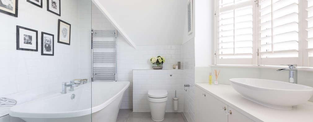 Salle de bains de style  par Granit Architects