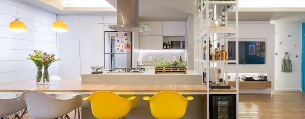 modern Kitchen by Semerene - Arquitetura Interior