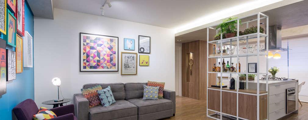 20 apartamentos pequenos com dicas para decorar seu lar for Apartamentos modernos 2016