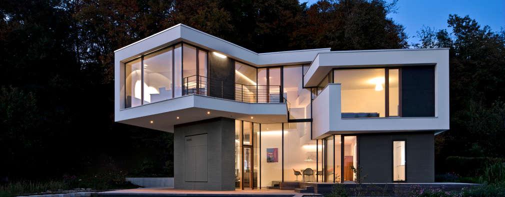 modern Houses by Kauffmann Theilig & Partner, Freie Architekten BDA