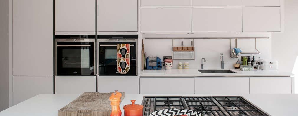 مطبخ تنفيذ Red Squirrel Architects Ltd