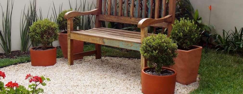 Resultado de imagem para pequenos jardins com pedras