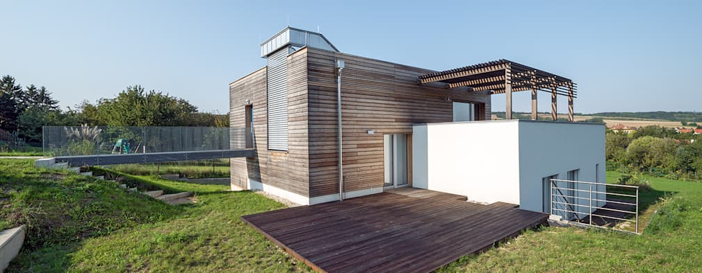บ้านและที่อยู่อาศัย by Abendroth Architekten