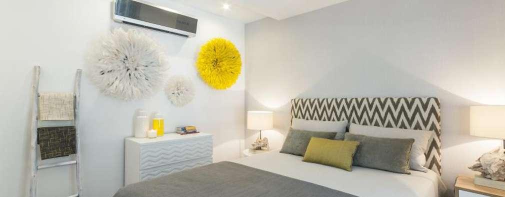 African Juju Room: Quartos modernos por Ana Rita Soares- Design de Interiores