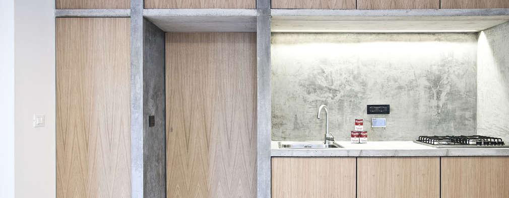 minimalistische Keuken door R3ARCHITETTI