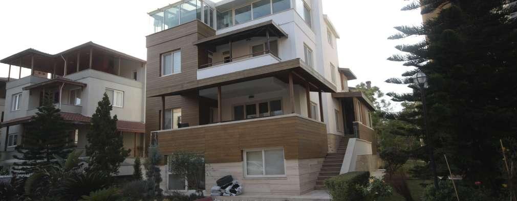 mediterranean Houses by DerganÇARPAR Mimarlık