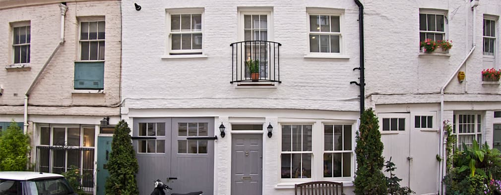 Projekty, minimalistyczne Domy zaprojektowane przez R+L Architect