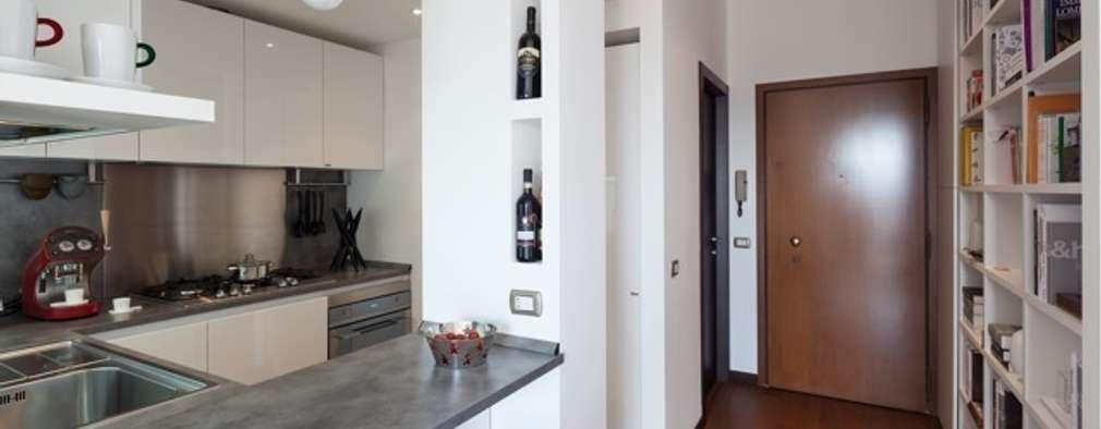 modern Kitchen by gk architetti  (Carlo Andrea Gorelli+Keiko Kondo)