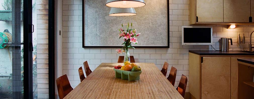 غرفة السفرة تنفيذ Tom Kaneko Design & Architecture