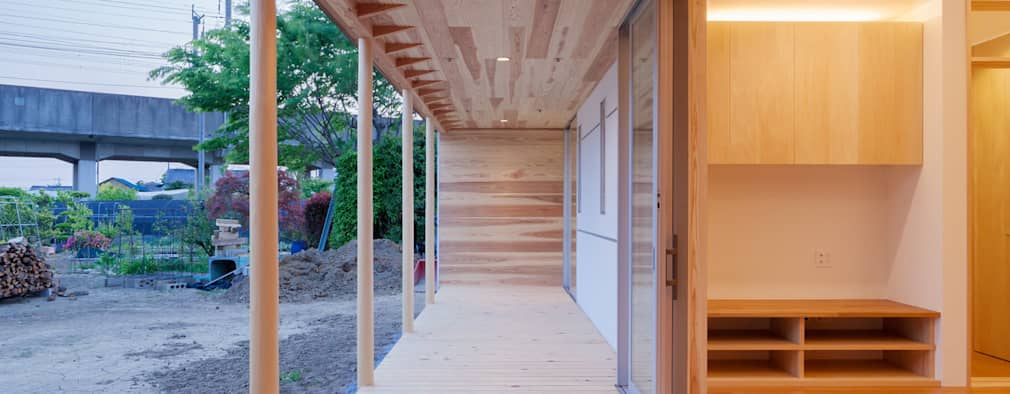 Patios & Decks by 株式会社 中山秀樹建築デザイン事務所