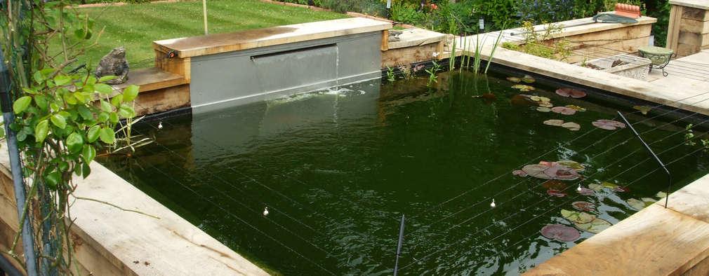 de estilo  por Aquajoy water gardens ltd