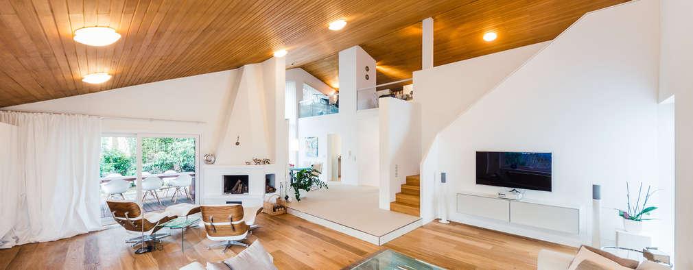 Das Wohnzimmer: Moderne Wohnzimmer Von Karl Kaffenberger Architektur |  Einrichtung