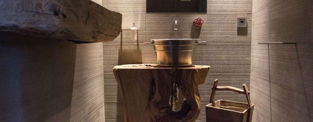 modern Bathroom by DF Design
