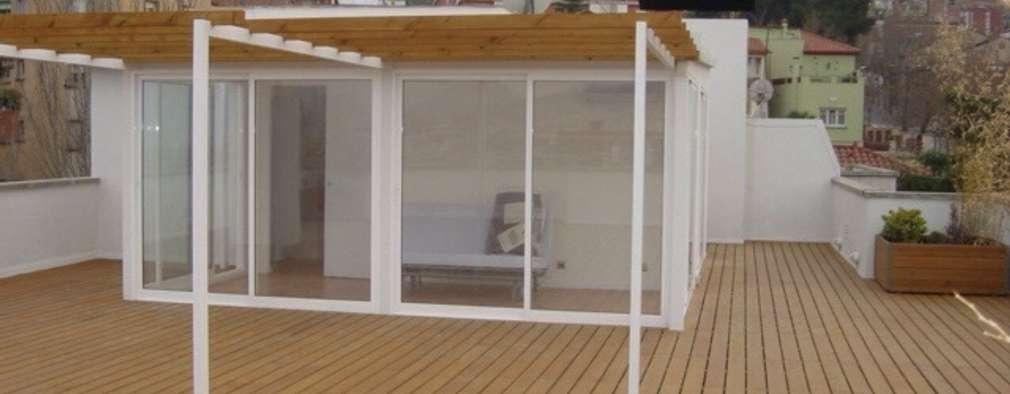 C mo construir una terraza en tu azotea en 8 pasos - Ideas para cerrar una terraza ...