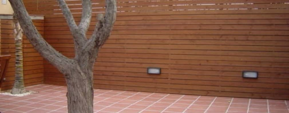 Patios 16 ideas para combinar piso y cerco de manera for Ideas de pisos para terrazas